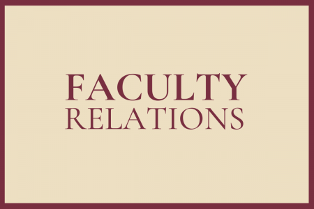 Faculty Relations